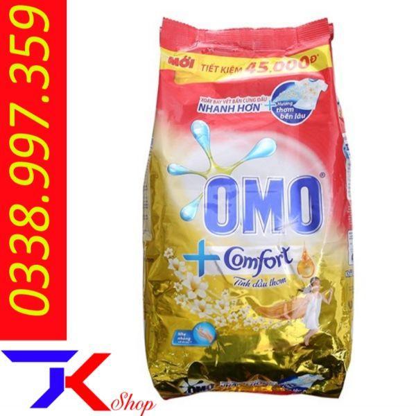 Bột Giặt OMO Comfort Tinh Dầu Thơm Tinh Tế 5.5kg Siêu Giảm Giá