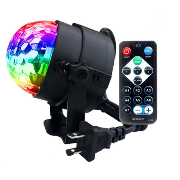 Đèn LED xoay vũ trường cảm ứng âm thanh - Hàng nhập cao cấp