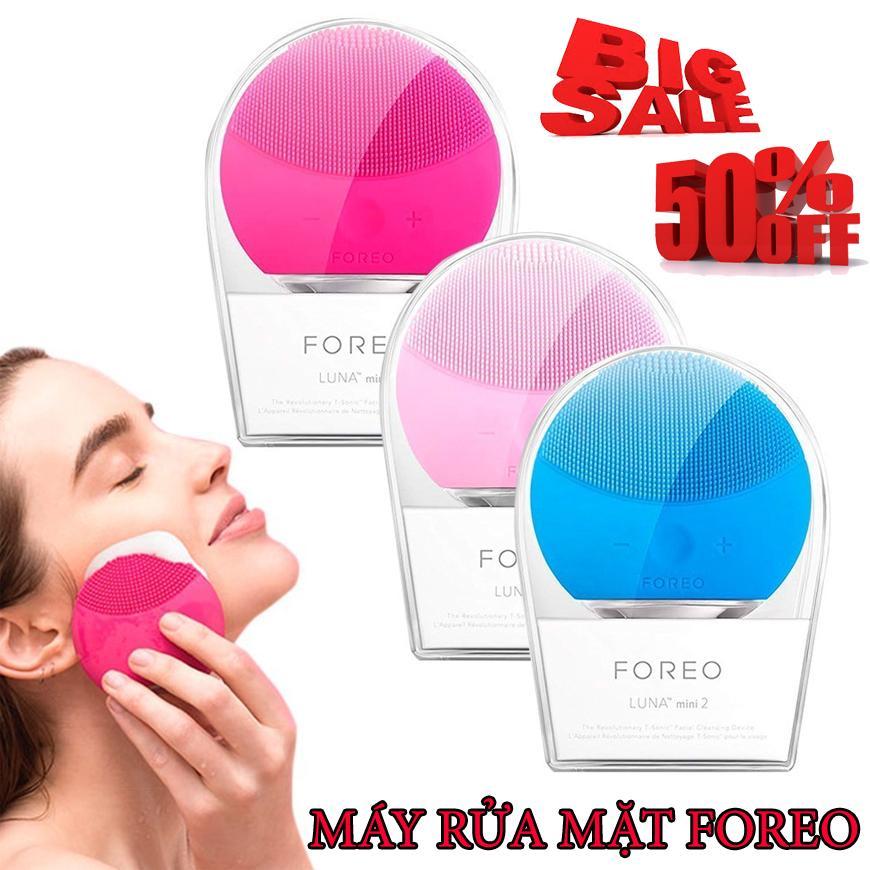 ( Sale 50% ) Máy Rửa Mặt Foreod-Luna - Máy Rửa Mặt Massage  Mặt Cao Cấp Nhập Khẩu nhập khẩu