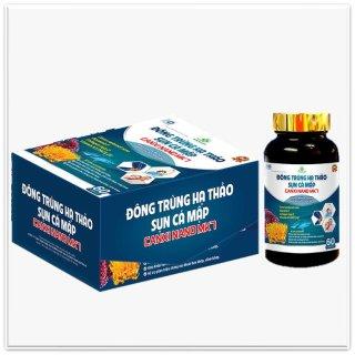 Viên Uống Đông Trùng Hạ Thảo Sụn Cá Mập Canxi Nano MK7- Bổ Sung Glucosamin Hỗ Trợ Giảm Thoái Hóa Khớp, Viêm Khớp- 60 viê thumbnail