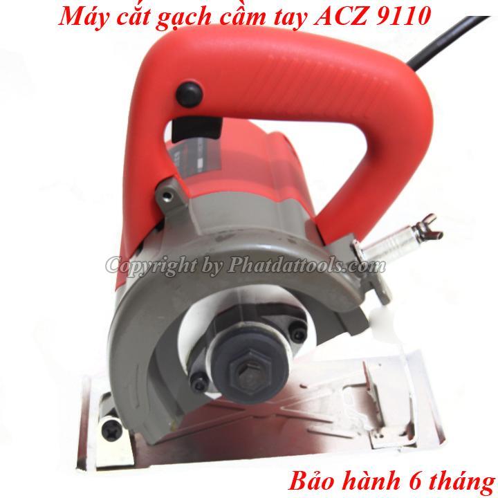 Máy cắt gạch đá ốp lát cầm tay ACZ 9110 cao cấp-Bảo hành 6 tháng