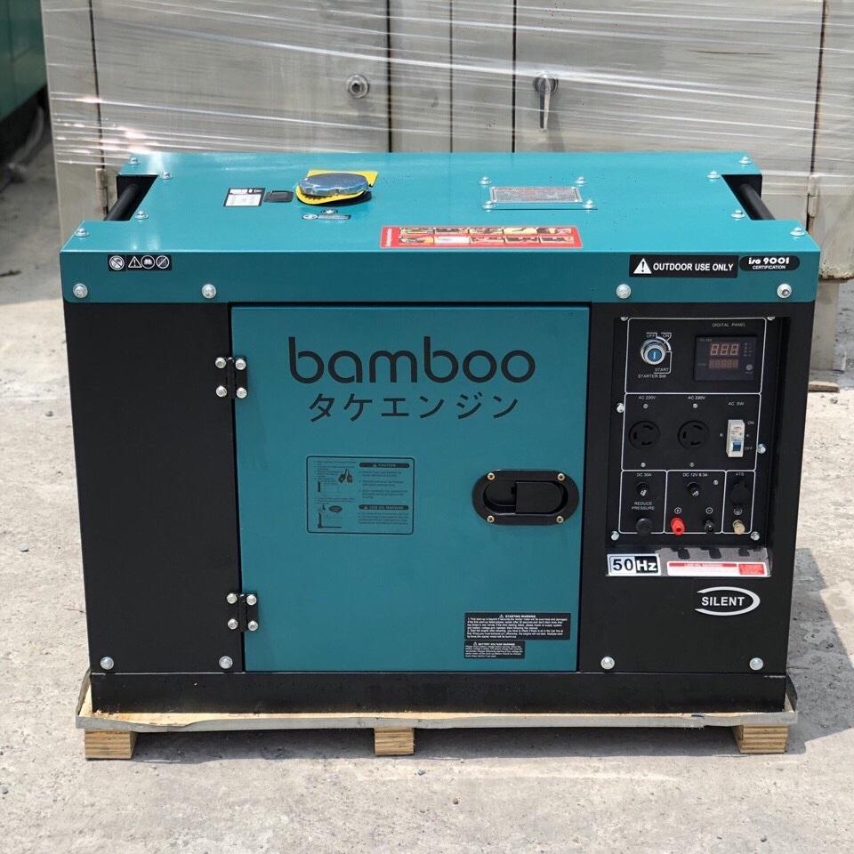Máy Phát Điện Chạy Dầu 8KW Bamboo 9800ET