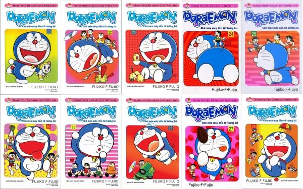 Sách - Combo Doraemon ngắn - 10 quyển (từ tập 21 đến tập 30)