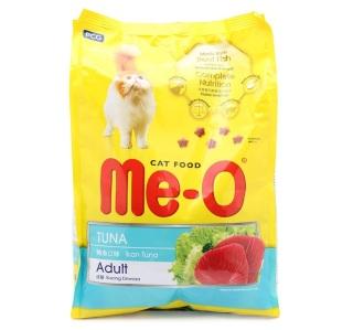 Thức Ăn Cho Mèo Lớn Me-O Adult bao 7kg ( 20 gói 350g) vị cá ngừ, hải sản , cá thu thumbnail
