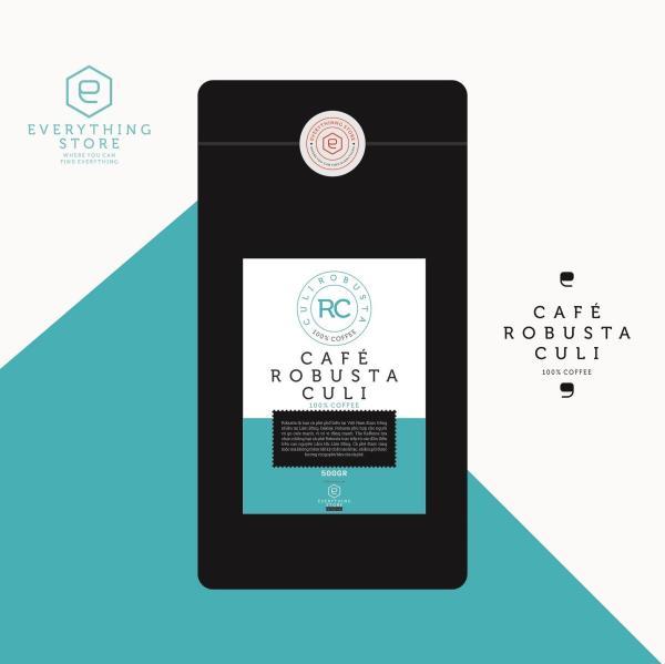 Cà phê Culi Robusta rang xay nguyên chất 1kg - SIÊU MẠNH - ĐẬM ĐẮNG
