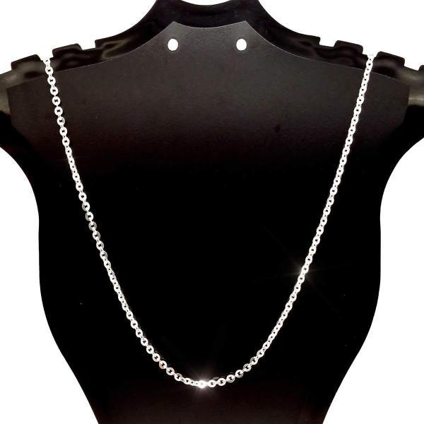 Dây chuyền bạc nữ - Vòng cổ bạc cỏ bốn lá may mắn đính Thủy Ngọc [DC-A14]