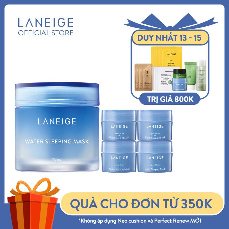 [Mới] Combo Đặc Biệt Dưỡng Ẩm Cho Da Laneige Water Sleeping Mask 130Ml (70Ml+60Ml) giá rẻ