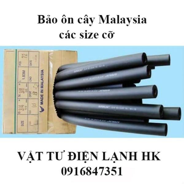 Bảng giá Ống bảo ôn điều hòa máy lạnh các size cỡ (chọn đúng cỡ khi đặt hàng) - Bảo ôn cây đen dài 1.83m Điện máy Pico