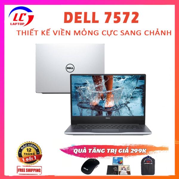Bảng giá [Trả góp 0%]Laptop Dell Inspiron 7572 Chơi Game Làm Văn Phòng i5-8250U VGA Nvidia MX150-4G Màn 15.6 FullHD IPS Laptop Dell Laptop Giá Rẻ Phong Vũ