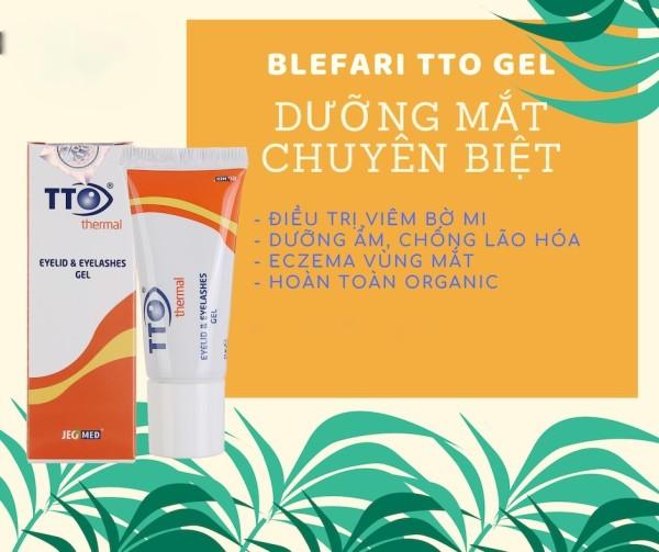 TTO Thermal Gel - Phòng ngừa viêm bờ mi mắt, dưỡng mắt [Tuệ Anh] giá rẻ