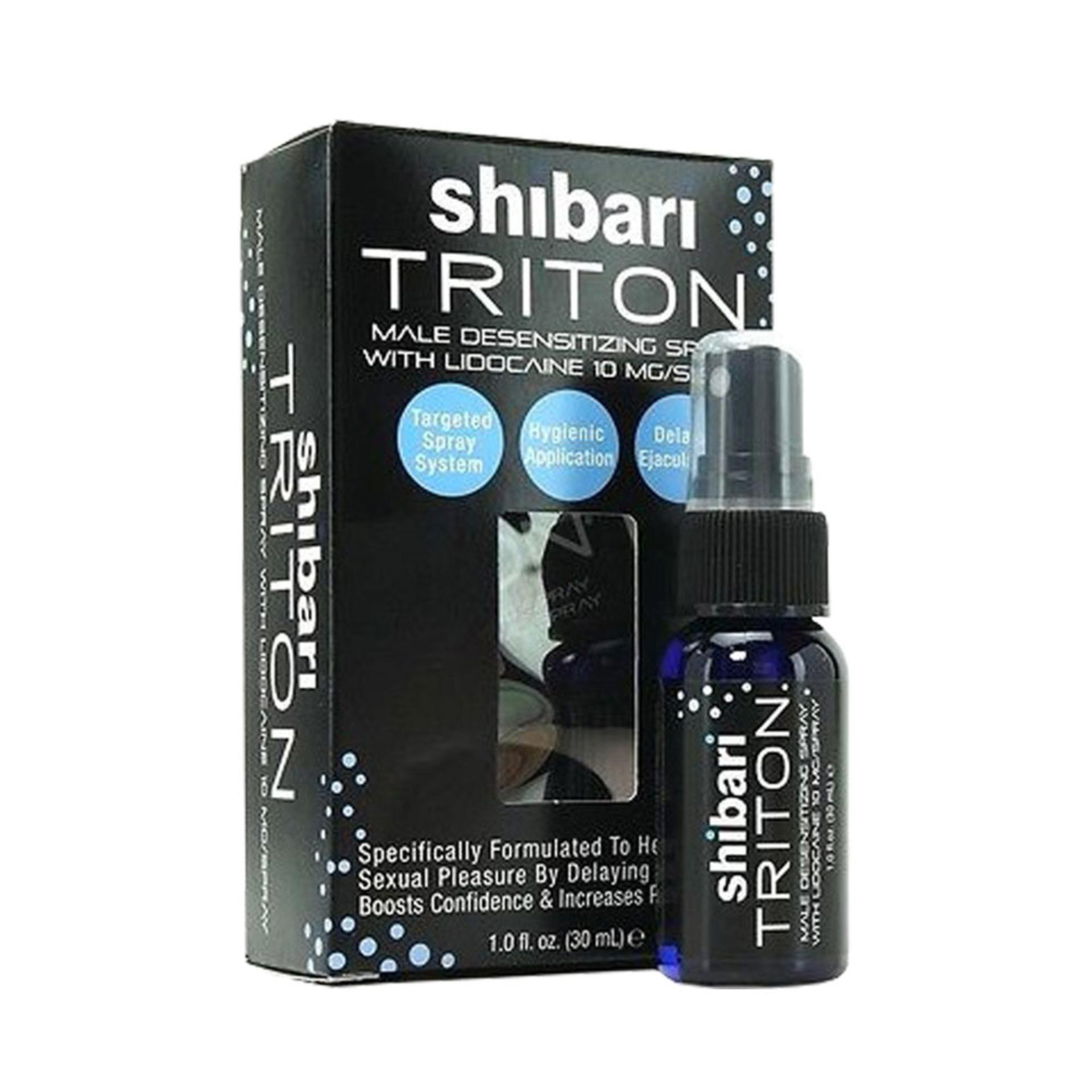 Tinh Chất Shibari (Mỹ) Chai xịt kéo dài thời gian [ BigBullShop-TC01 ]