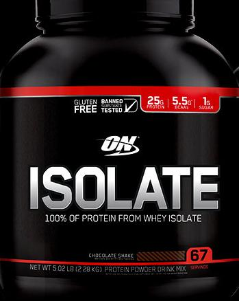 Thực phẩm bổ sung ON Isolate 5.02lb (2.28kg) Chocolate Shake