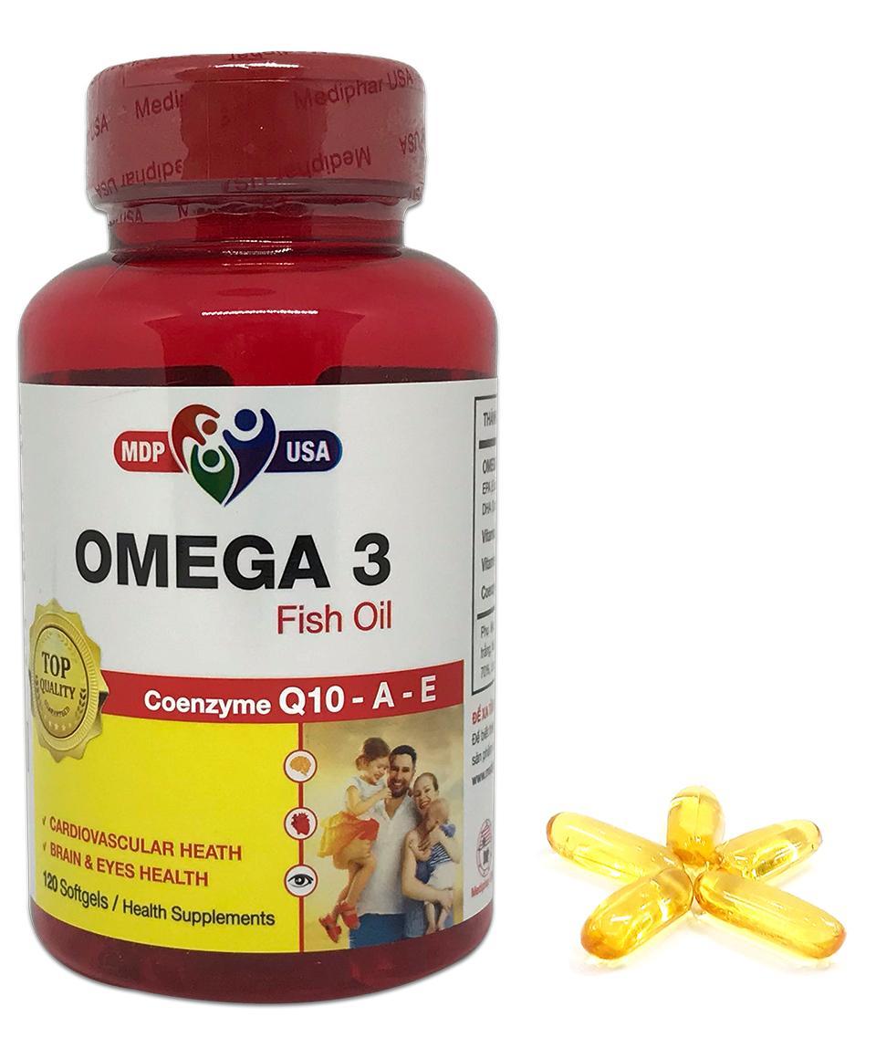 Bổ sung Omega 3 (EPA, DHA) và vitamin A, E cho cơ thể. Hỗ trợ tăng cường sức khỏe, giúp bổ não, tốt cho da, mắt, cải thiện trí nhớ, giảm nguy cơ xơ vữa động mạch.