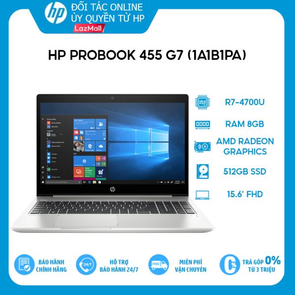 Bảng giá [VOUCHER 3 TRIỆU] Laptop HP ProBook 455 G7 1A1B1PA R7-4700U | 8GB | 512GB | 15.6 FHD | Win 10 Phong Vũ