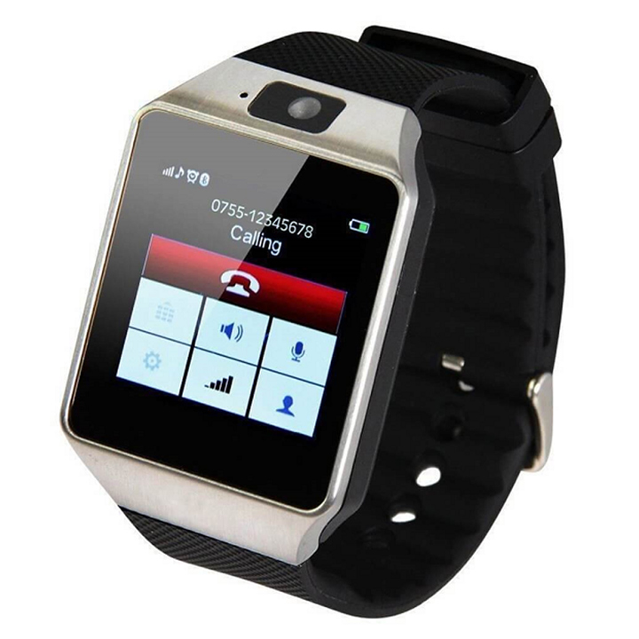 Đồng hồ thông minh lắp sim nghe gọi nhắn tin DZ09, màn hình cảm ứng nhạy