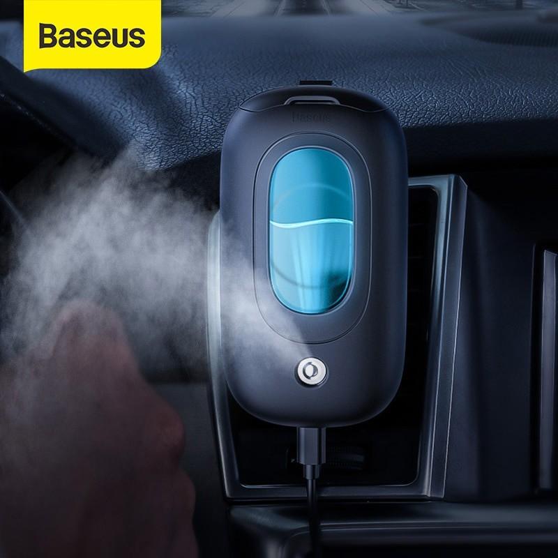 Máy phun sương tạo ẩm Baseus Mini Spaceship Car hít lưng gắn lọc gió [new], cam kết hàng đúng mô tả, đảm bảo cung cấp các sản phẩm đang được săn đón trên thị trường hiện nay