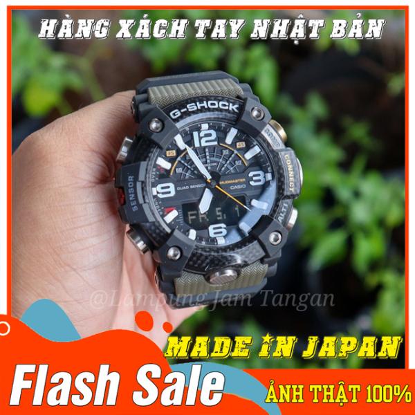 Nơi bán Đồng hồ nam G-Shock GG-B100-1A3 XANH RÊU - Mới- Made in JAPAN - Size 46mm - Bảo hành 12 tháng - Siêu chống nước,chống từ,chống va đập - Màu bền không phai - Đẳng cấp NHẬT BẢN