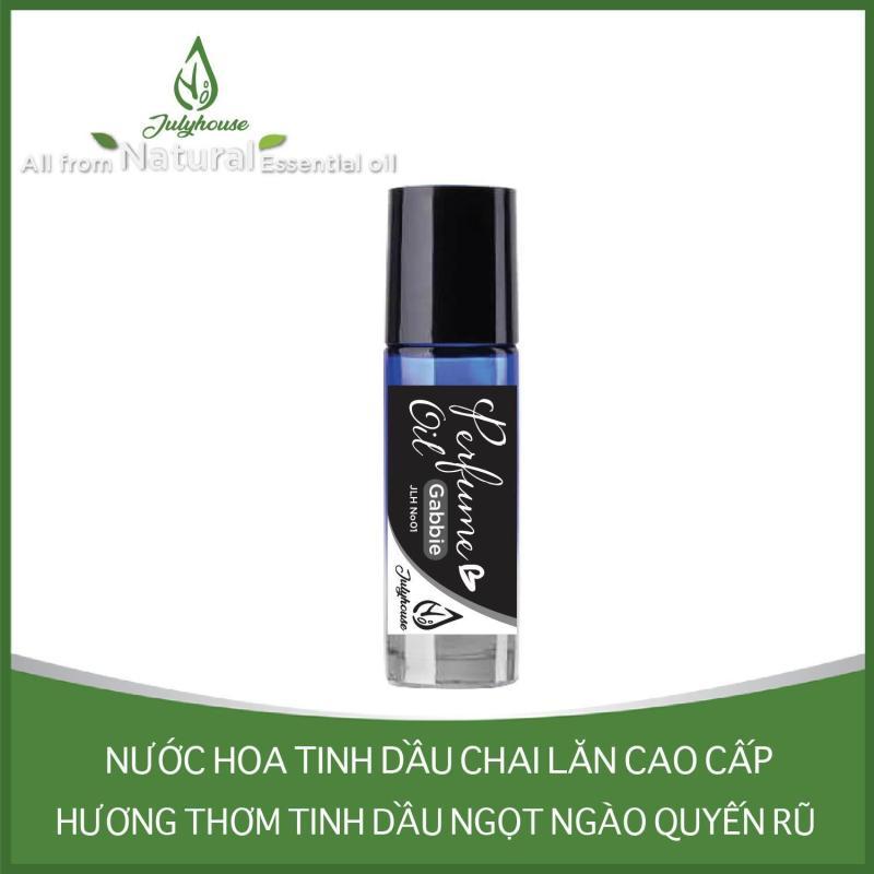 Nước hoa tinh dầu dạng chai lăn Gabbie No.01 5ml JULYHOUSE nhập khẩu