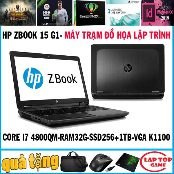 Bảng giá HP Zbook 15 G1-Khủng Đồ Họa core i7-4800MQ, ram 32g, SSD256g + 1tb, VGA Quadro K1100M, màn 15.6 Full HD) DÒNG MÁY TRẠM SIÊU ĐỒ HỌA 3D MAX Phong Vũ