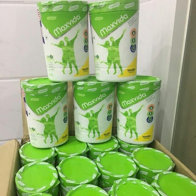 Sữa Maxvida 400gr thức uống bổ sung dinh dưỡng dành cho người lớn