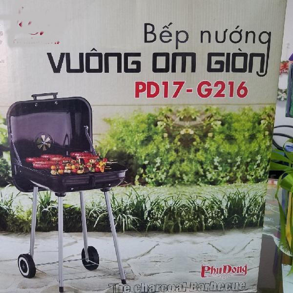 Bếp nướng than hoa Phù Đổng PD17-G216