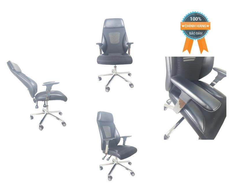 Ghế xoay ngả lưng thư giãn nhập khẩu MN-G521-Đ (Đen) giá rẻ