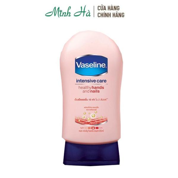 Sữa dưỡng da tay và móng tay Vaseline Healthy Hands and Nails 85ml nhập khẩu