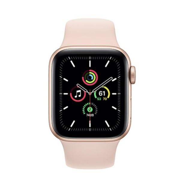 [Trả góp 0%](VN/A) Đồng hồ thông minh Apple Watch SE 40mm 44mm (GPS) viền nhôm - Dây cao su