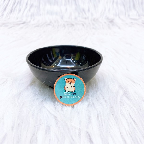 Bát ăn nhựa bóng đẹp cho hamster