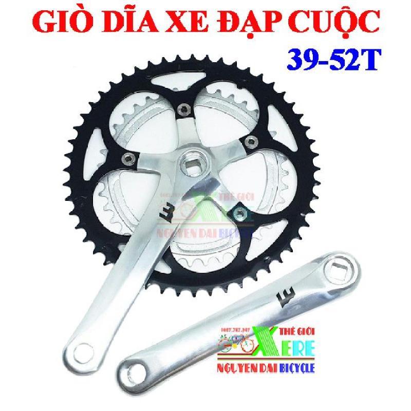 Mua Giò dĩa xe đạp cuộc-Motachie 39x52T nhôm