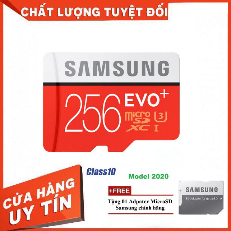 [Model Mới] Thẻ nhớ MicroSD Samsung EVO Plus 4K 256GB 100MB/s 256GB Box Anh 2020 - Hàng Chính Hãng