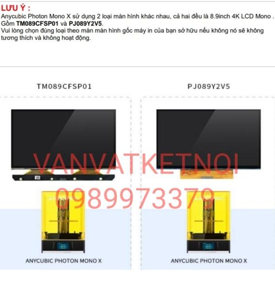 Bảng giá Màn hình LCD 4K Monochorme for Anycubic Photon Mono X Phong Vũ