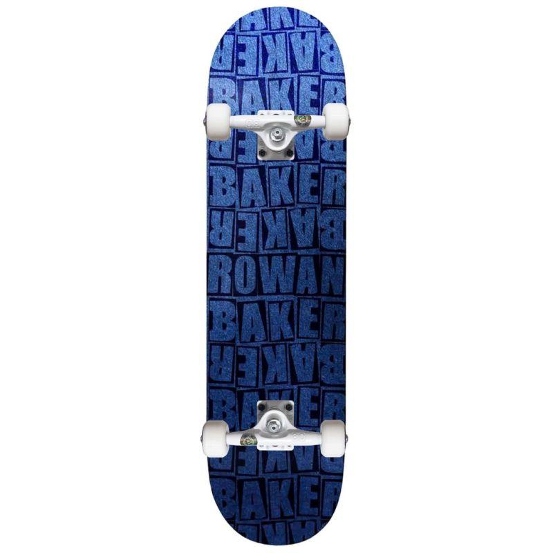 Ván Trượt Skateboard Thể Thao Cao Cấp Châu Âu- BAKER ROWAN PILE BLUE B2 CUSTOM COMPLETE 8.25