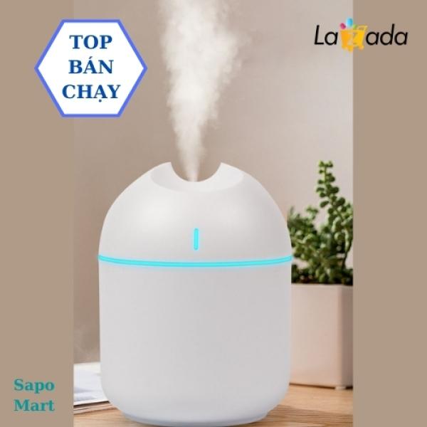 [LOẠI 1] đèn xông tinh dầu, máy phun sương mini 2in1 Tạo Ẩm Có Led Đổi Màu DX05 - 250ml