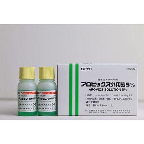Tinh chất kích thích mọc tóc thảo dược Sato Nhật Bản 30ml - Tách Lẻ (1 Lọ) giá rẻ