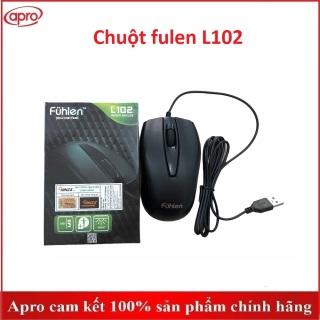 (BH 12 tháng ) Chuột fuhlen L102 có dây , chuột dây- Apro shop thumbnail