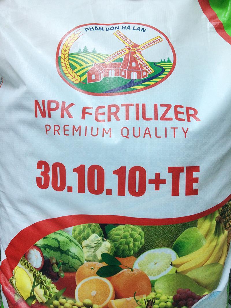 1Kg phân bón NPK 30-10-10+TE, phân bón nguyên liệu cao cấp Hà Lan