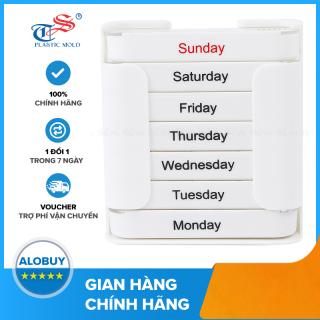 [HCM]Hộp chia thuốc 7 ngày tiện dụng Tashuan TS-5317 thumbnail