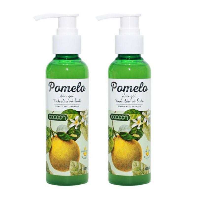 Bộ 2 DẦU GỘI BƯỞI POMELO COCOON giúp giảm rụng tóc, kích thích mọc tóc nhập khẩu