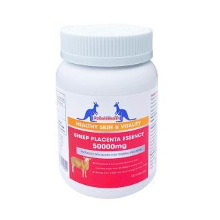 AuGoldHealth - Viên Uống Nhau Thai Cừu Úc - Sheep Placenta Essence 50000mg - 100 Viên 3