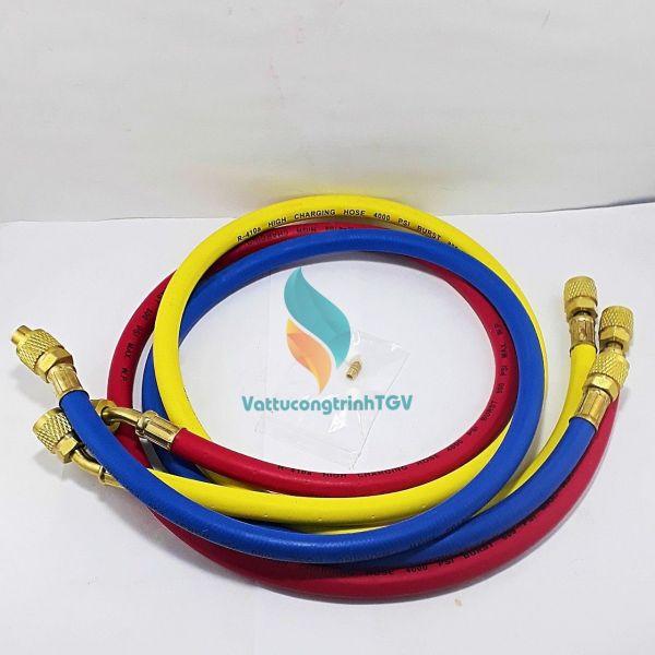 Bộ 03 dây nạp Gas CT336 - 90cm cho gas R410