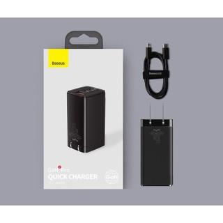 Bộ Củ + Cáp sạc Baseus GaN2 Pro Quick Charger 65W 2USB-C+ 1USB-A thumbnail