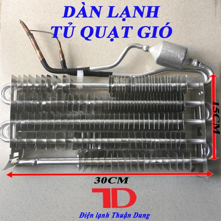 Dàn lạnh tủ quạt gió 30x15 cm