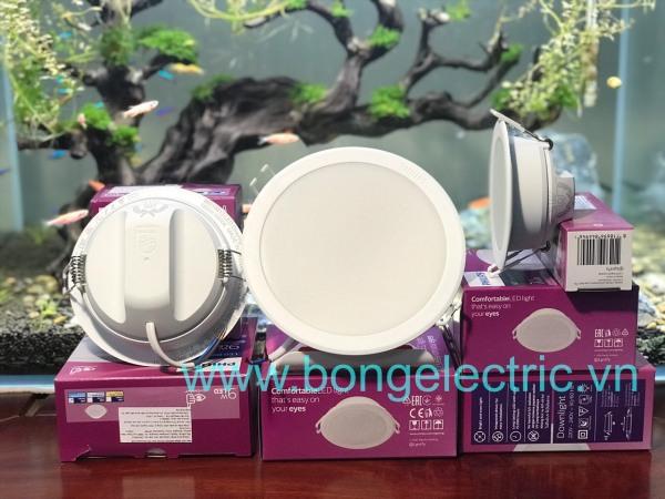 Đèn led âm trần Philips, dòng Meson G3, công suất 7w, mã 59445 lỗ khoét 90mm - hàng chính hãng