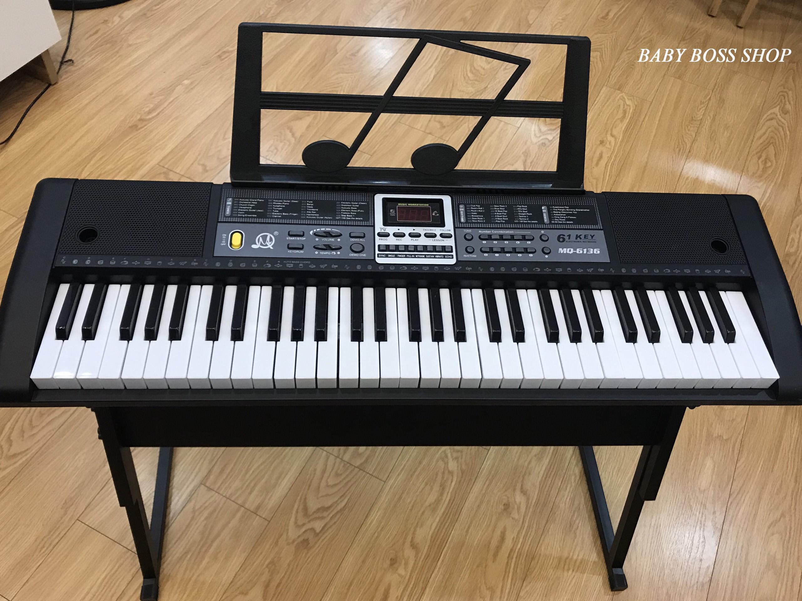 Đàn Piano Đàn Organ Electronic Keyboard Đàn 61 Phím Đàn điện Cho Người Mới Học đàn Với Giá Sốc