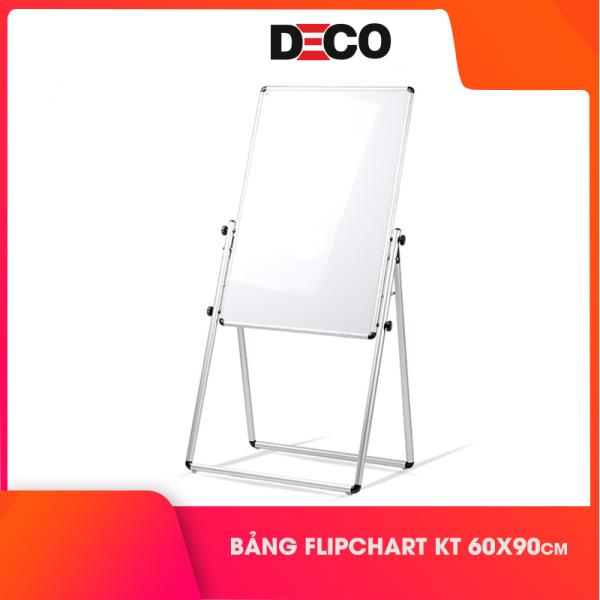 Mua Bảng Flipchart Kt 60x90cm sử dụng 2 mặt trắng, Tặng kèm 4 bút dạ, 1 bông lau và 12 nam châm