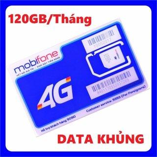Sim 4G Mobifone C120N 120GB (4GB ngày) gọi nội mạng không giới hạn - 120k tháng từ MƯỜNG THANH ROYAL thumbnail
