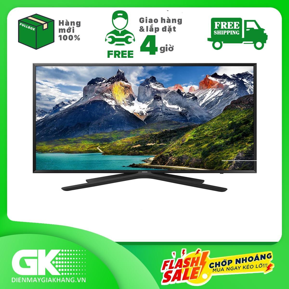 Bảng giá Smart Tivi Samsung Full HD 43 inch 100W UA43N5500 - Công nghệ Contrast Enhancer - PurColor - Hệ điều hànhTizen - Bảo hành 2 năm