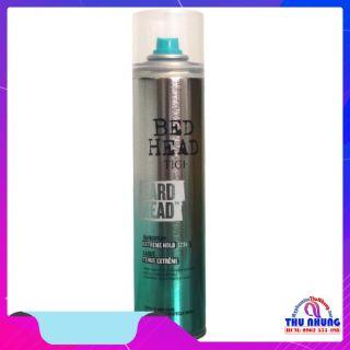 [HCM]Keo xịt giữ nếp tóc siêu cứng siêu bền TIGI BedHead Hard Head Hard Hold Hair Spray 385ml thumbnail