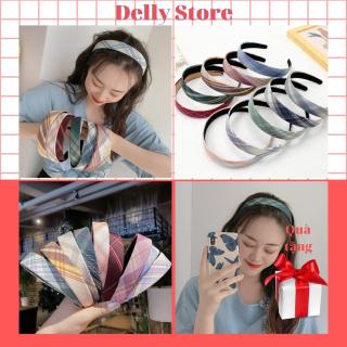 Bờm tóc,băng đô cài tóc ximh dành cho nữ Delly strore thiết kế đơn giản phong cách Hàn Quốc nhựa 12cm thumbnail